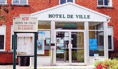 HÔTEL DE VILLE DE SAINT-CALIXTE